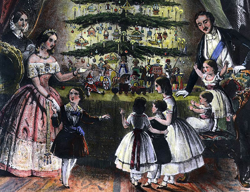The Victorian Christmas Friends Event